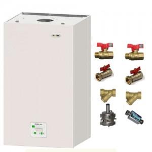 poza Pachet centrala termica in condensatie Motan Green 24 kW + Kit accesorii instalare centrala