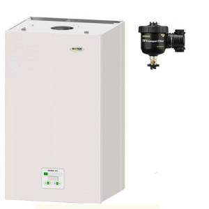 poza Pachet centrala termica in condensatie Motan Green 24 kW + Filtru anti-magnetita Fernox TF1