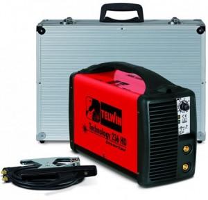 poza Invertor sudura TELWIN TECHNOLOGY 236HD + valiza transport aluminiu si accesorii