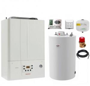 poza Pachet centrala termica Immergas Victrix Tera 24 Plus cu boiler Atlas 80 litri
