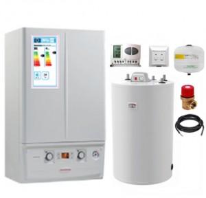 poza Pachet centrala termica Immergas Victrix Tera 32 TT Plus cu boiler Atlas 120 litri