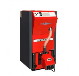 poza Cazan automat compact pe peleti Atmos D15PX 15 kW