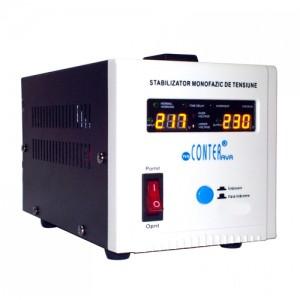 poza Stabilizator de tensiune cu releu Conter AVR SVR 1000VA / 750W