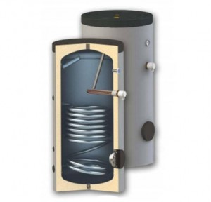 poza Boiler cu o serpentina Woody SN 400 litri