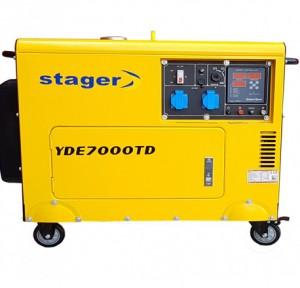 poza Generator insonorizat Stager YDE7000TD, diesel, monofazat