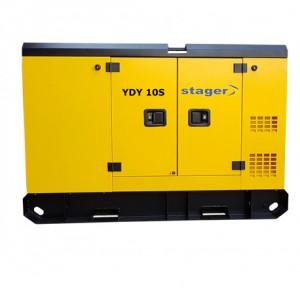 poza Generator insonorizat Stager YDY10S, silent 1500rpm, diesel, monofazat