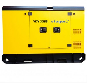 poza Generator insonorizat Stager YDY33S3, silent 1500rpm, diesel, trifazat