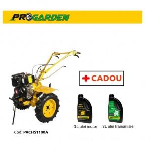 poza Pachet ProGarden HS 1100A - Motosapa 7CP, diesel + Cadou 1l ulei motor si 3l ulei transmisie