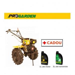 poza Pachet ProGarden HS 1100AE - Motosapa 7CP, diesel, pornire electrica + Cadou 1l ulei motor si 3l ulei transmisie