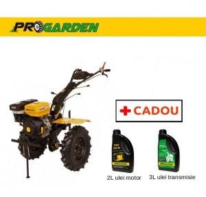 poza Pachet ProGarden HS 1100-16 - Motosapa 16CP, benzina + Cadou 2l ulei motor si 3l ulei transmisie