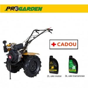 poza Pachet ProGarden HS 1100B - Motosapa 9CP, diesel + Cadou 2l ulei motor si 3l ulei transmisie
