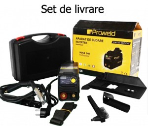 Poza Set livrare Invertor MMA ProWeld MMA-140