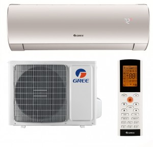 poza Aer conditionat Gree Fairy 12000 BTU GWH12ACC-K6DNA1D Inverter, A++, freon R32, Control WiFi, Filtru Carbon Activ si Cold Plasma, I Feel, Afisaj Ceas, Kit instalare inclus