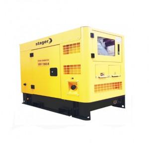 poza Generator insonorizat Stager YDY15S3-E, silent 1500rpm, diesel, trifazat