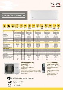 Poza Aparat aer conditionat Yamato Optimum R32 9000 Btu YW09IG4, Wi-fi integrat, alb. Poza 6308