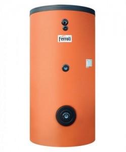 poza Boiler cu doua serpentine Ferroli Ecounit 150-2 WB 150 litri