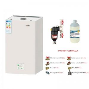 poza Pachet centrala termica in condensare Motan Green28 -C34GV28-P 28 kW + Kit accesorii instalare centrala + Filtru anti-magnetita Chemstal Cleanex MAG HF 3/4