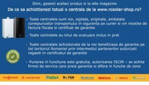 Poza Centrala termica in condensare Ariston Genus One 24 EU 24 KW model 2017. Poza 7182