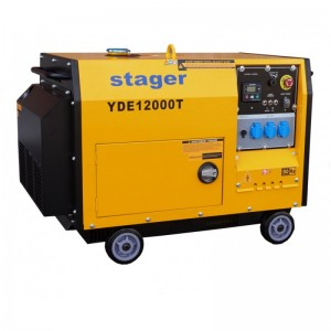 poza Generator insonorizat Stager YDE12000T