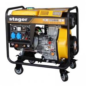 poza Generator sudare diesel Stager YDE8500EW
