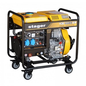 poza Generator sudare diesel Stager YDE6500EW