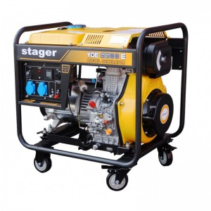 poza Generator  diesel Stager YDE6500E