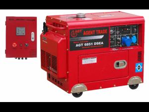 poza AGT 6851 DSEA Generator monofazat cu automatizare AT 408 , putere max 5 kVA