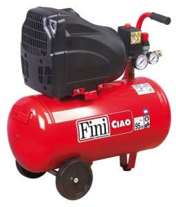 poza Compresor cu piston coaxial Fini Ciao 8bar 24L