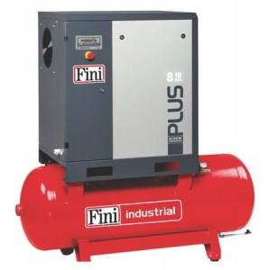 poza Compresor cu surub Fini Industrial PLUS8-10-500 10bar 500L