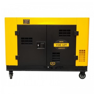 poza Generator insonorizat Stager YDE12T, 3000rpm, diesel, monofazat