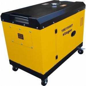 poza Generator insonorizat Stager YDE15000T3 14 KVA, monofazat, 3000 r/min