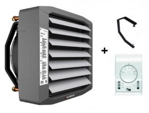 poza Aeroterma pe agent termic FLOWAIR LEO S1 - putere incalzire 0.7 - 12.8 kW cu suport si termostat inclus