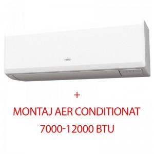 poza Aparat de aer conditionat Inverter Fujitsu 12000 BTU ASYG12KPCA R32, Clasa Racire A++, design slim, montaj inclus